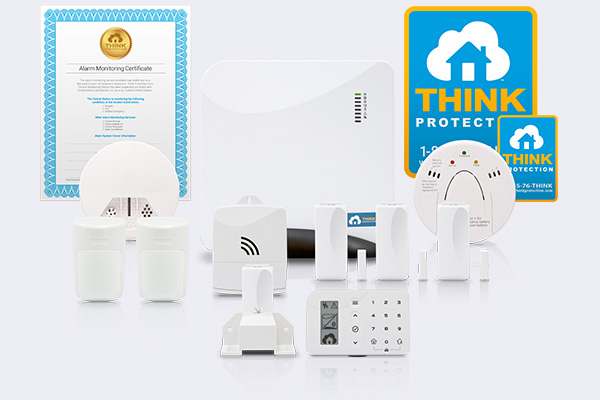 Premium Package - Home Alarm System