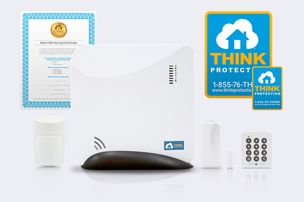 Standard Package - Home Alarm System