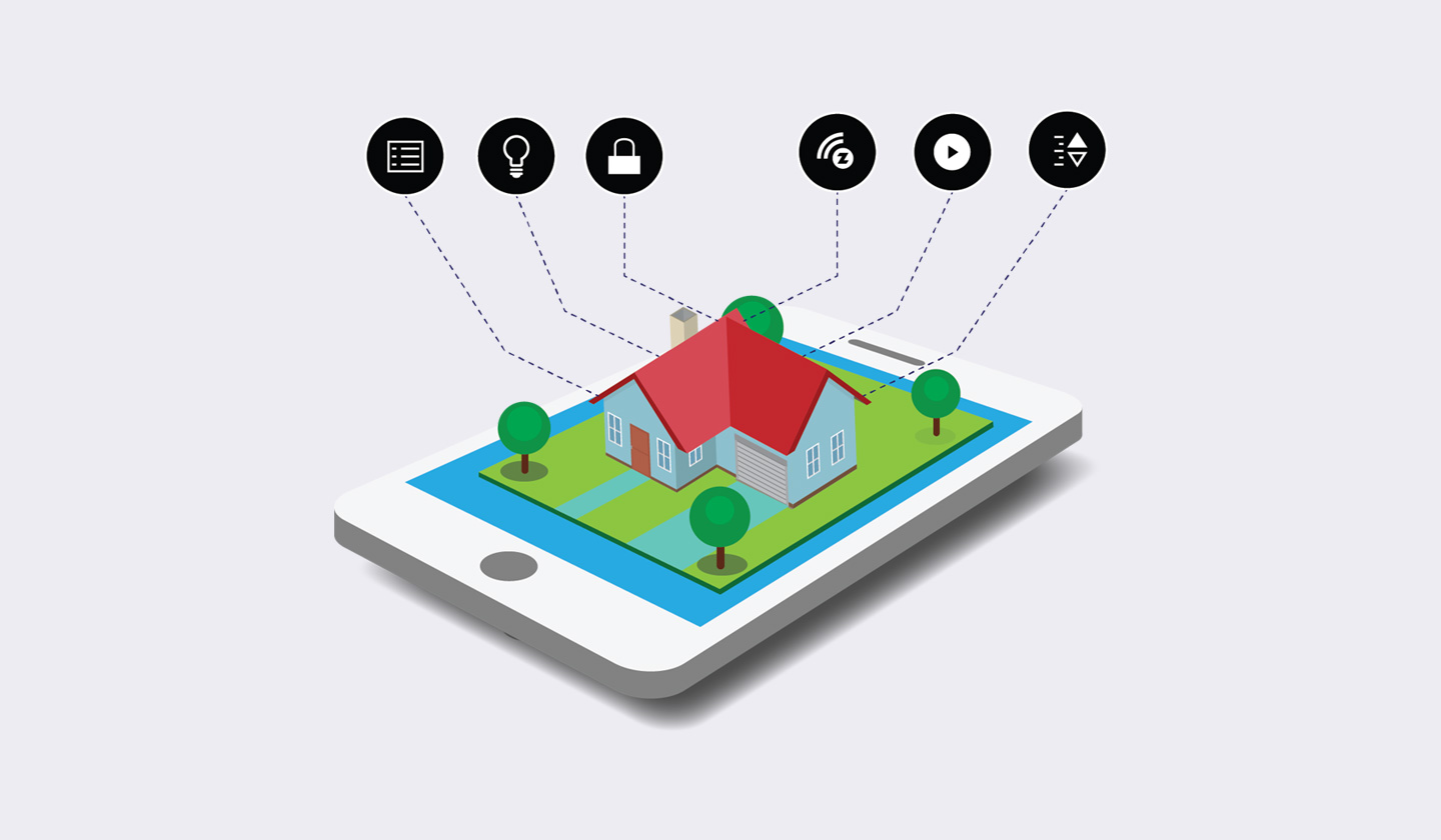 Isometric Smart Home