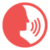 Audible Voice Prompts Icon