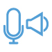 Two Way Voice Icon